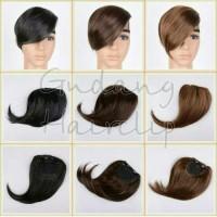 Jual Hairclip Poni Samping / Poni Clip Model Samping Murah