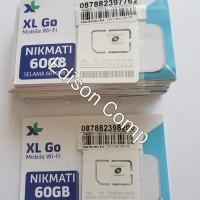 Perdana Mifi 4G XL Go Huawei E5577 E5573 60Gb 60Hari Tanpa Isi Pulsa