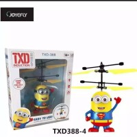 RC heli drone sensor tangan infrared induction aircraft TXD Inductio