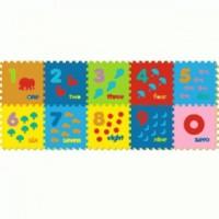 Jual EVAMAT NUMBER Mainan Anak - Matras / Puzzle / Alas Lantai Evamat Angka Murah