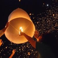 Jual (Murah) Sky Lantern / Lentera Terbang / Lampion Terbang Murah