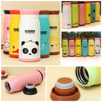 Jual BEST! TERMOS ANIMAL 500ML / BOTOL MINUM ANIMAL RABBIT/PANDA/ELEPHANT Murah