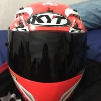 Helm KYT C5 Race With Signature Nurganto