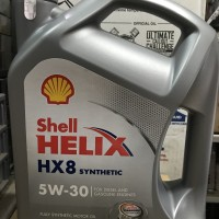 Shell Helix HX 8 / HX8 5W-30 Galonan ASLI DAN MURAH!!