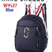 Tas Bag Ransel Backpack MJ Marc Jacobs W9527 Semi Premium Biru / Blue