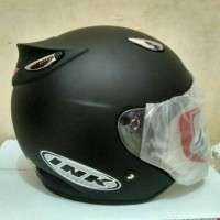 Helm model ink centro - hitam doff bkn kyt bogo nhk baj Diskon