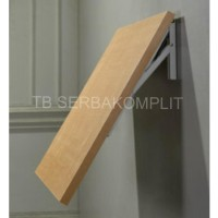 Harga rak siku lipat 12in folding shelf bracket tembok lipat | antitipu.com