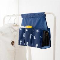 Jual MURAH Hanging bag organizer mini Tempat penyimpanan gantung perekat -  Murah
