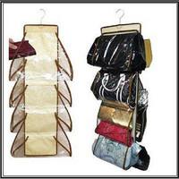 Jual MURAH Purse Store Hanging handbag organizer tempat tas scarf topi - HP Murah