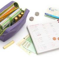 Jual MURAH bank book dompet organizer buku tabungan uang kertas logam - hhm Murah