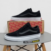 Sepatu Vans Old Skool Classic Full Black Dope IFC Premium oldskool