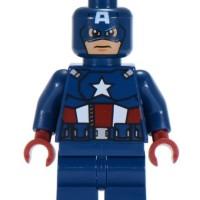 LEGO Marvel Captain America - Dark Blue Suit sh014 set 6865