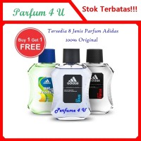 (Promo buy 1 get 1) Parfum Original Adidas unutk Pria EDT 100ml