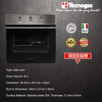 Tecnogas Oven Tanam FN3K66G3X