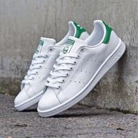 Sepatu Adidas Stan Smith OG White Green - 100% Original