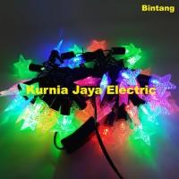 Lampu Pohon Natal Led Hias Model Bintang Warna Warni 50Led
