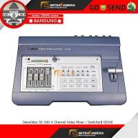 DataVideo SE-500 4 Channel Video Mixer / Switcher SE500