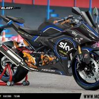 Decal stiker New CBR150R Black SKY VR46 RACING TEAM