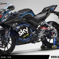 Decal stiker R15 V3 SKY VR46 RACING TEAM
