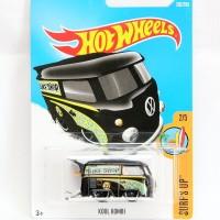 Hot Wheels Kool Kombi - Mooneyes - hitam