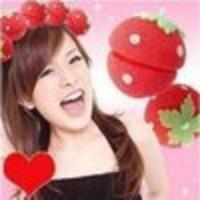 Jual Magic Strawberry Sponge Hair Curler Ball: Rambut Ikal T Limited Murah