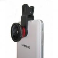 Jual Lesung Universal Clamp 0.4X Super Wide Angle Lens - LX-U004 - Black Murah