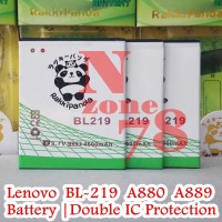 BATTERY LENOVO BL219 A880 A889 DOUBLE POWER PROTECTION