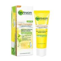 harga Garnier Light Complete White Speed Multi Action Whitening Serum Cream Tokopedia.com