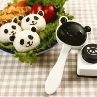 Jual Pencetak Cetakan Panda Nasi Rice Sushi Mold Bento Nori Seaweed Puncher Murah