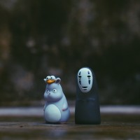 Jual No Face Spirited Away Figure / Totoro  Murah