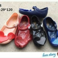 Jual Jelly shoes kids premium Murah
