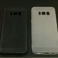 SoftCase Jaring Samsung S8 5.8inchi S8 EDGE TPU Cooling Mesh motif DOT