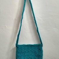 tas sandang dari tali kur