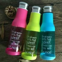 Jual Botol minum my bottle be nice 600 ml water bottle thumbler Murah