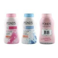 Ponds bb cream magic powder pinkish white blue natural mattifying