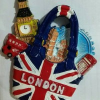 Jual souvenir magnet kulkas negara london england british english Murah