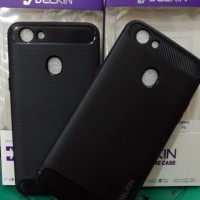 Softshell Carbon Fiber Oppo F5 2017 case/ipaky/soft