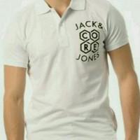 kaos kerah polo shirt tshirt jack jones