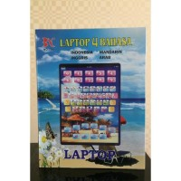 Jual Playpad/laptop anak 4 led bahasa Murah