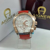 Jam Tangan Pria Merk Aigner Palermo Type A58500 Chrono