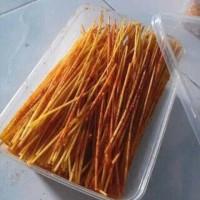 Jual Lidi lidian Cemilan Pedas & Gurih @500gr Murah
