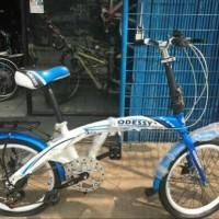Sepeda Lipat 20 Odessy Shimano 7 Speed Discbrake