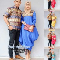 baju couple kaftan vanessa batik kebaya unik cantik modern modis lucu