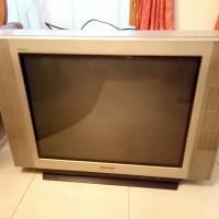 TV SONY Trinitron Tabung Layar Flat 29 Inci