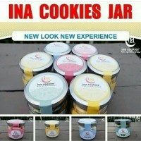 Jual Ina Cookies toples kaca mini Murah