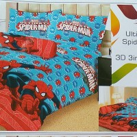 SPREI LADY ROSE 3D 3IN1 ULTIMATE SPIDERMAN NO. 1