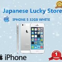 REFURBISHED APPLE IPHONE 5-32 GB WHITE/BLACK GARANSI DISTRIBUTOR 1 THN
