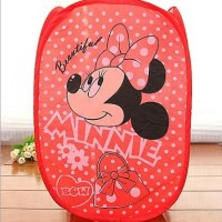 Keranjang Pakaian Kotor Motif Minnie Mouse Item Favorit