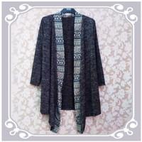 Jual Outer Lengan Panjang Cardigan Bolero Blazer Panjang Vest kardy batik Murah
