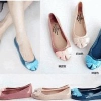 Jual (Dijamin) Jelly Shoes Ribbon Murah